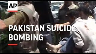 Suicide bombing kills 2 people in Pakistan's Swat Valley