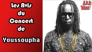 Réactions après le concert de Youssoupha