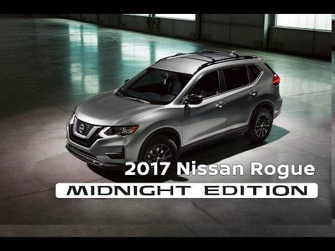 nissan 2017 nissan rogue midnight edition video. Black Bedroom Furniture Sets. Home Design Ideas