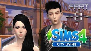 getlinkyoutube.com-The Sims 4 City Living #8 ชายข้างห้องคนนี้คือใคร ? ชายสี่ หมี่เกี๊ยว !