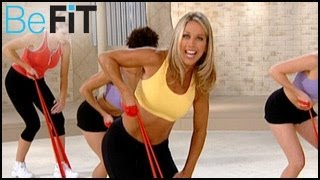 getlinkyoutube.com-Denise Austin: Upper Body Resistance Workout- Arms, Chest & Shoulders
