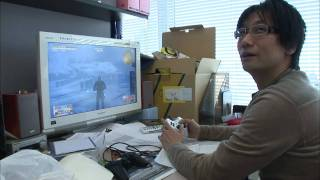 getlinkyoutube.com-Making of Metal Gear Solid 4 - Hideo Kojima's Gene 1/4