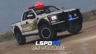 getlinkyoutube.com-LSPDFR - Day 82 - Police Ford Raptor