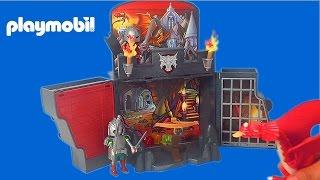 getlinkyoutube.com-Playmobil Dragons 5420 Knights Unboxing Video Dragones Draken Ridders Toy Video Playmobil Драконы