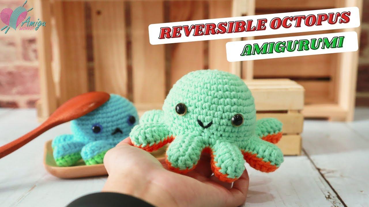 FREE Pattern – The Original Reversible Octopus amigurumi