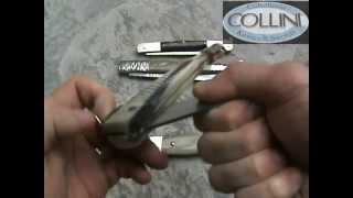 getlinkyoutube.com-Coltelli regionali italiani, rasolino, romano, siciliano knives - Coltelleria Collini
