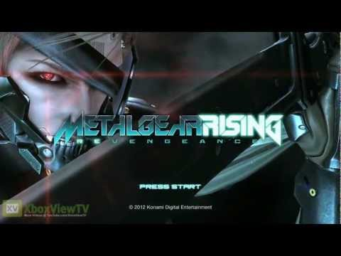 "Metal Gear Rising: Revengeance - ""E3 2012: Demo Title Screen"" Teaser Trailer 