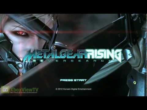 "Metal Gear Rising: Revengeance - ""E3 2012: Demo Title Screen"" Teaser Trailer | HD"
