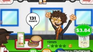 getlinkyoutube.com-Papa's burgeria to go dia 7