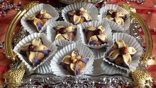 getlinkyoutube.com-Jasmine flower cookies - حلوى الياسمينة بطريقة سهلة و ناجحة - Fleur de jasmin