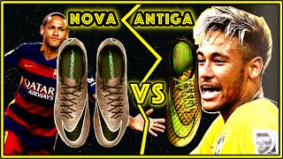 getlinkyoutube.com-NEYMAR (2015) vs (2016) - BATALHA de CHUTEIRAS: HYPERVENOM I (antiga) vs II (nova) - TESTE & REVIEW