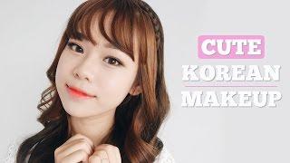 getlinkyoutube.com-Cute Korean Makeup Tutorial | ENG SUB | Molita Lin