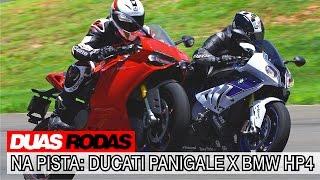 Comparativo: Ducati Panigale x BMW HP4