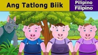 Ang Tatlong Biik - Kwentong Pambata - Pambatang Kwento - 4K UHD - Filipino Fairy Tales