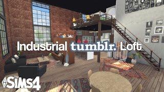 getlinkyoutube.com-The Sims 4: House Build | Industrial Tumblr Loft