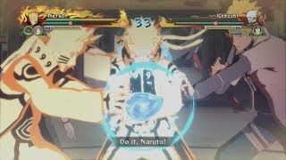 Naruto Shippuden Ultimate Ninja Storm Revolution - Bijuu Mode Naruto vs Kakashi Gameplay
