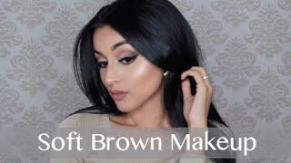 Soft Brown Makeup Tutorial   LABEAUTYWORLD