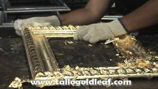 getlinkyoutube.com-how to apply gold leaf on picture frames