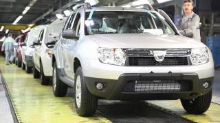 getlinkyoutube.com-Fabricatie Dacia Duster