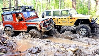 getlinkyoutube.com-RC Extreme Pictures — RC Cars OFF Road 4x4 Adventure — Mudding 4x4 Trucks Jeep VS Land Rover Part 2