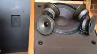 Loa Bose 601 Seri III  test mix karaoke