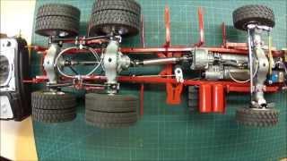 getlinkyoutube.com-Funktionstest der Sperren, Getriebe und Lenkung am MAN 6x6 von ScaleArt
