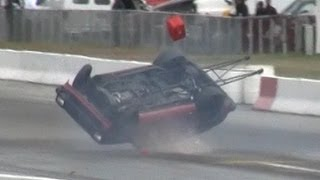 getlinkyoutube.com-7 second Toyota Starlet CRASH on THE ROOF! - MIR World Cup Finals 2012
