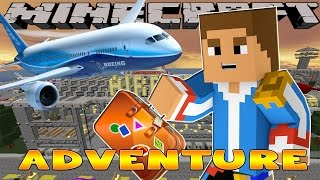 getlinkyoutube.com-Minecraft - Little Donny Adventures - VACATION w/ DONUT, GOING TO THE AIRPORT
