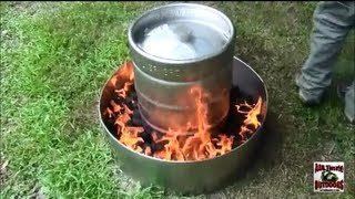 getlinkyoutube.com-HOW TO COOK A TURKEY IN 2 HOURS THE EASY WAY! IN A BEER KEG!!!!!!!