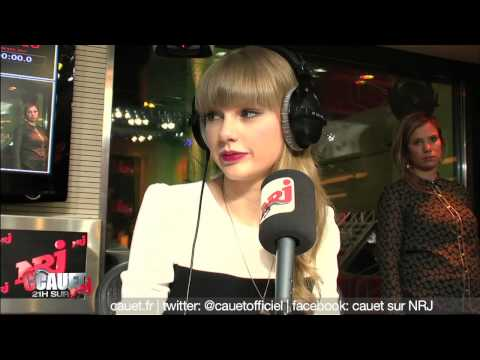 Taylor Swift craque pour Cauet - C'Cauet sur NRJ