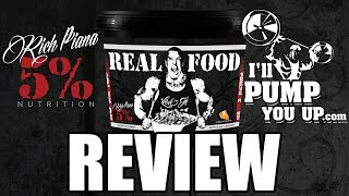 getlinkyoutube.com-Rich Piana 5% Nutrition Real Food Supplement Review and Taste Test