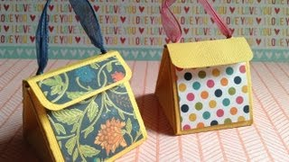 getlinkyoutube.com-Cómo hacer una bolsa para regalo/How to make gift purse SCRAPBOOK