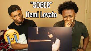 Demi Lovato   Sober (REACTION)