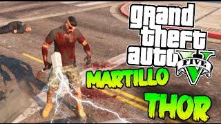 getlinkyoutube.com-GTA V MOD PC EL MARTILLO DE THOR Y LOS SUPER PODERES EN GTA !! GTA 5 MOD Makiman