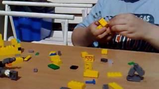 getlinkyoutube.com-Création du Lego-Digimon Agumon de la dernière saison.