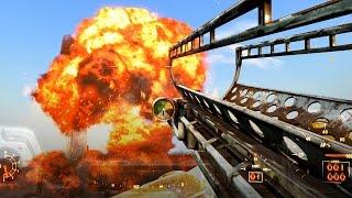getlinkyoutube.com-Fallout 4 Nuclear Destruction / Automatic Fatman  Ultra Settings