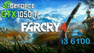 getlinkyoutube.com-Far Cry 4 : GTX 1050 Ti - i3 6100 (Ultra Settings)