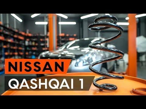 Как заменить переднюю пружину стойки амортизатора NISSAN QASHQAI 1 (J10) (ИНСТРУКЦИЯ AUTODOC)