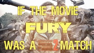 "getlinkyoutube.com-If the movie ""Fury"" was a Company of Heroes 2 match"