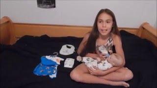 getlinkyoutube.com-Waking Up and Feeding Reborn Baby Gabriel