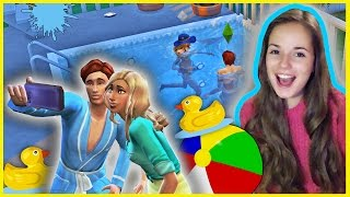 getlinkyoutube.com-Вечеринка у Бассейна :D !!! The Sims 4
