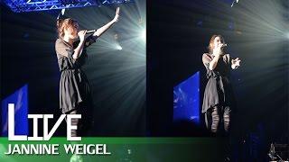 getlinkyoutube.com-ขอใจเธอแลกเบอร์โทร - หญิงลี cover by Jannine Weigel (พลอยชมพู) @จิ้มไหล่ Festival