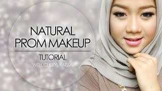 getlinkyoutube.com-Natural Glam Prom Makeup Tutorial | Cheryl Raissa - Collaboration with Indonesian Beauty Vlogger