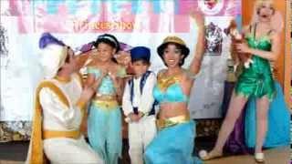 getlinkyoutube.com-PrincesShow : Show Infantil de Princesas en Monterrey - Jazmín - Aladdin - Campanita