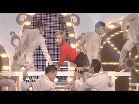 GAIN (B.E.G.) - Tinkerbell & Bloom @Comeback Stage (7 Oct,2012)