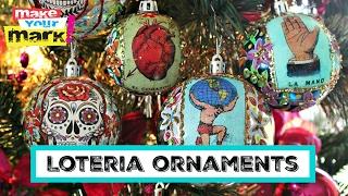 getlinkyoutube.com-How to: Sugar Skull And Lotería Ornaments