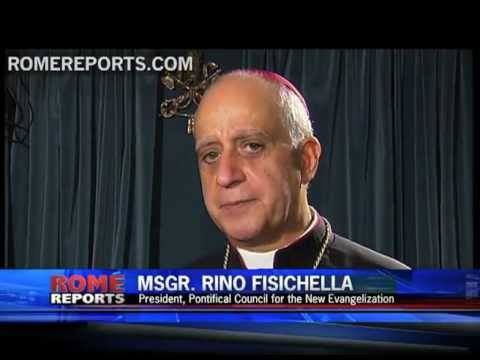 Msgr  Rino Fisichella  The bureaucracy in the life of the Church is excessive