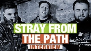 "getlinkyoutube.com-STRAY FROM THE PATH Interview #3 | Switching Labels | ""Bands rip us off and thats awesome"""