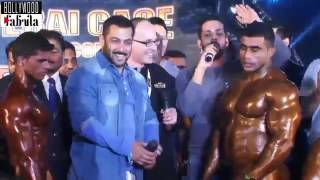 getlinkyoutube.com-Salman Khan Giving Gym Workout Tips With Body Builder Sergi Constance