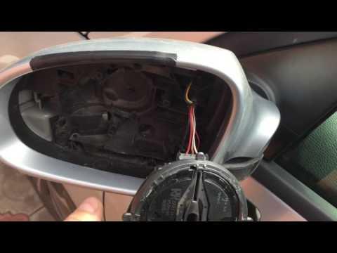 Замена поворотника в зеркале на Passat B6